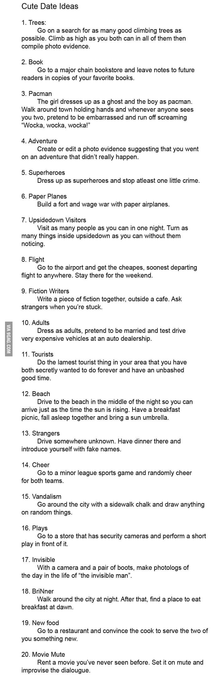 9gag dating ideas