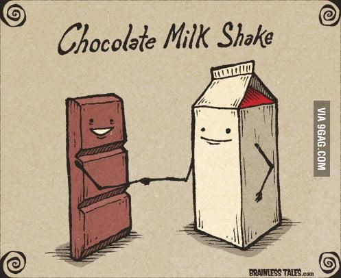 Chocolate Milkshake please