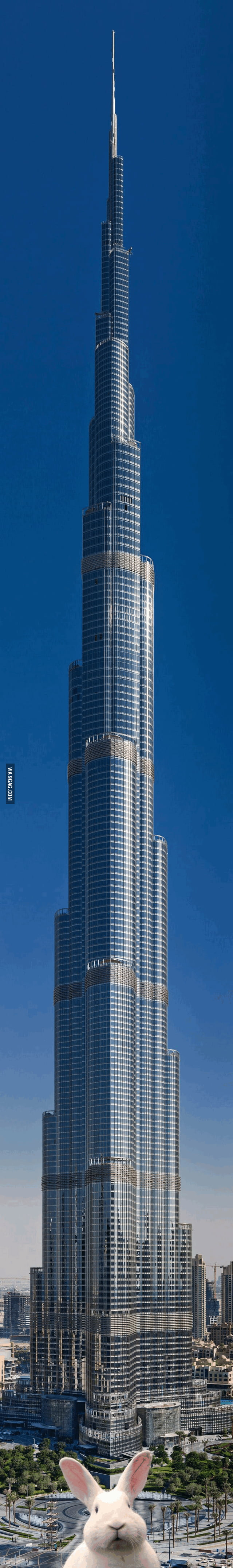 Very high building...