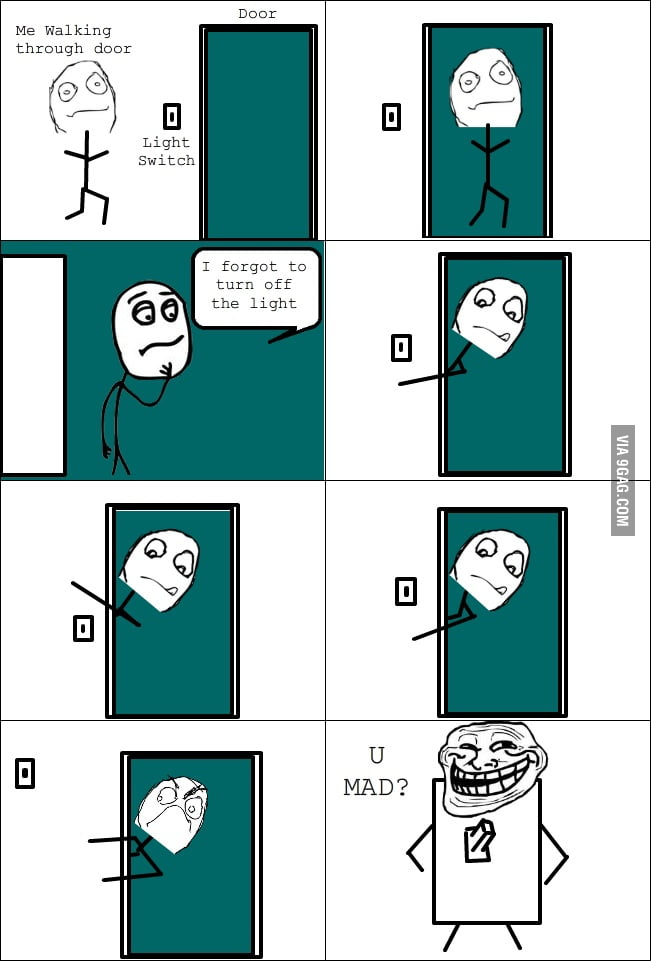Every Time! Trolling Light Switch