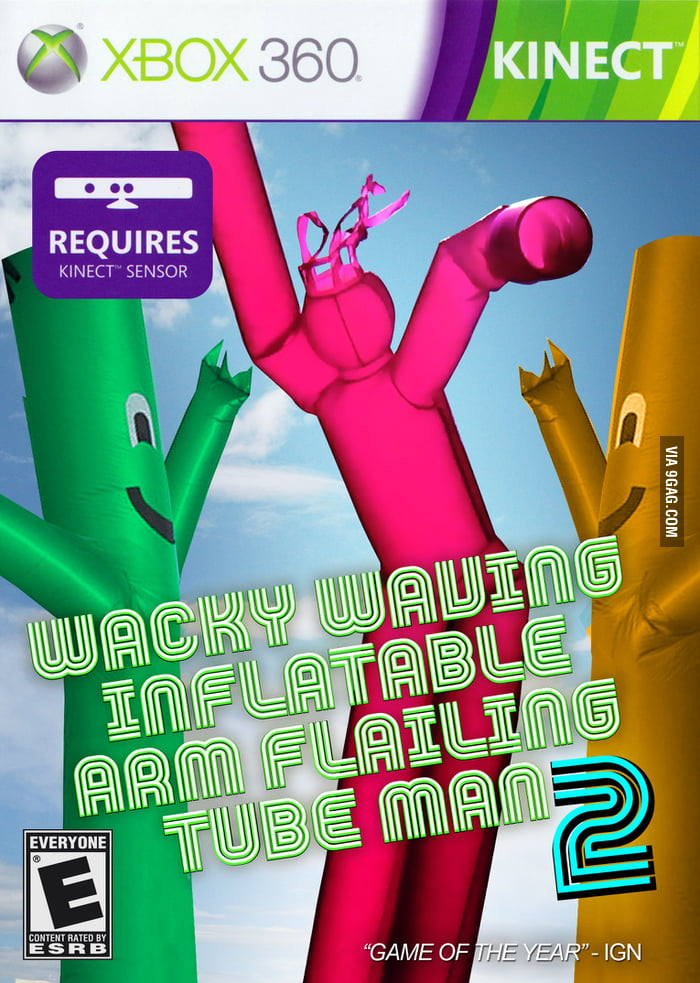 wacky waving inflatable arm flailing tube man for xbox 9gag. Black Bedroom Furniture Sets. Home Design Ideas