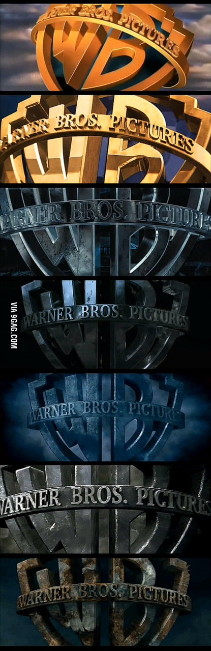 Harry Potter Warner Bros. Logo progression