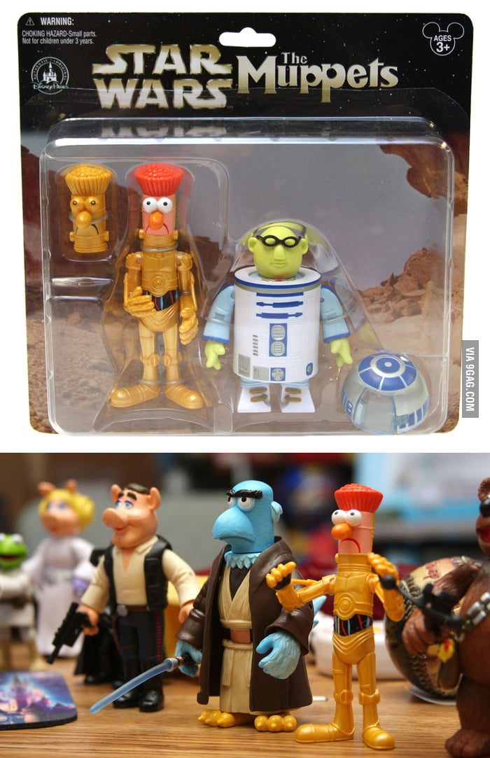 The Force is Strong with The Muppets
