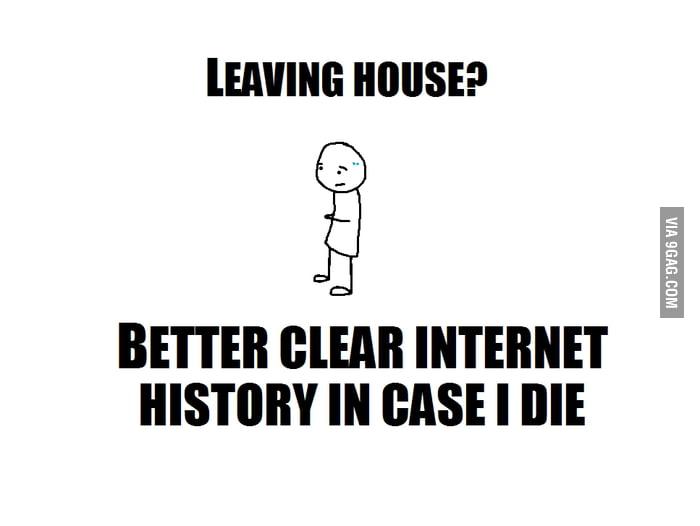 Leaving house