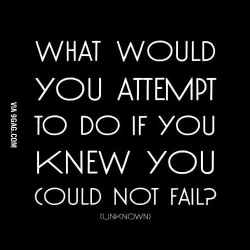 What would you attempt to do if you...