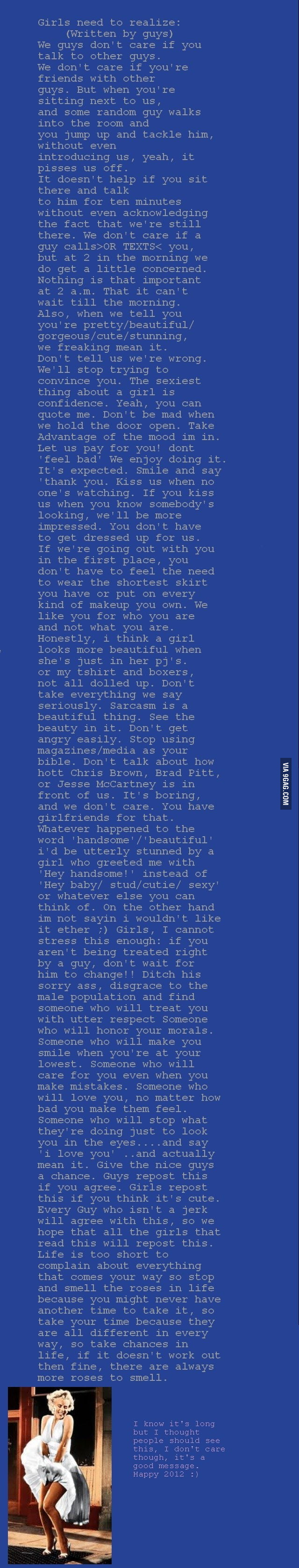 Sincerely, nice guys