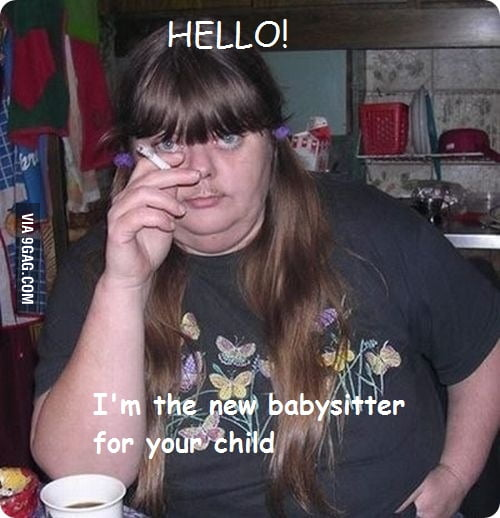 Cute babysitter - 9GAG