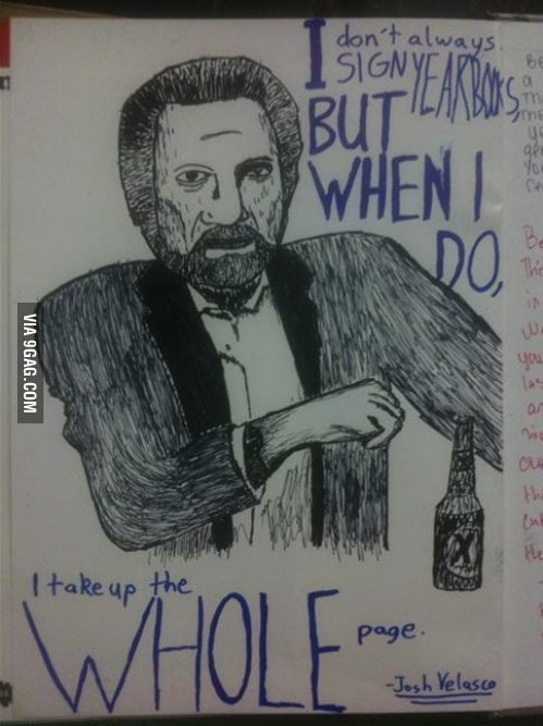 The Most Interesting Man In Your Yearbook