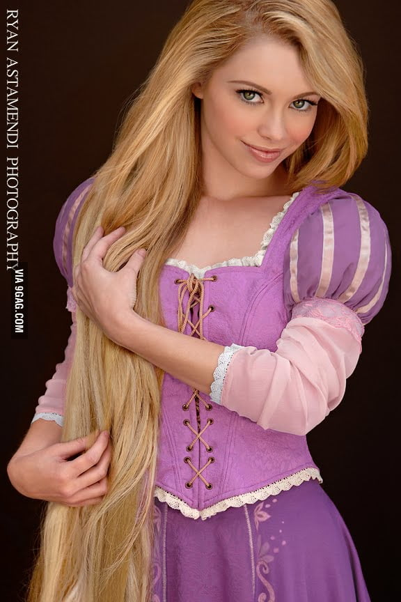 Rapunzel in real life