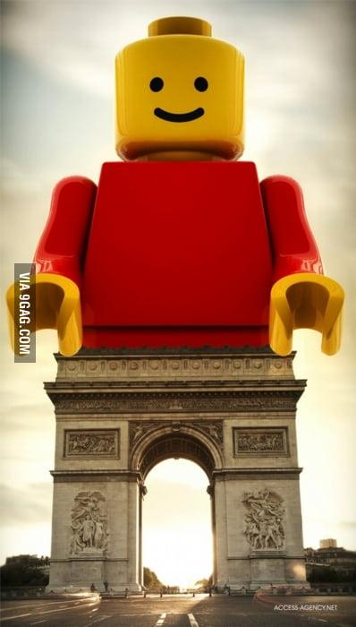 Lego Monument