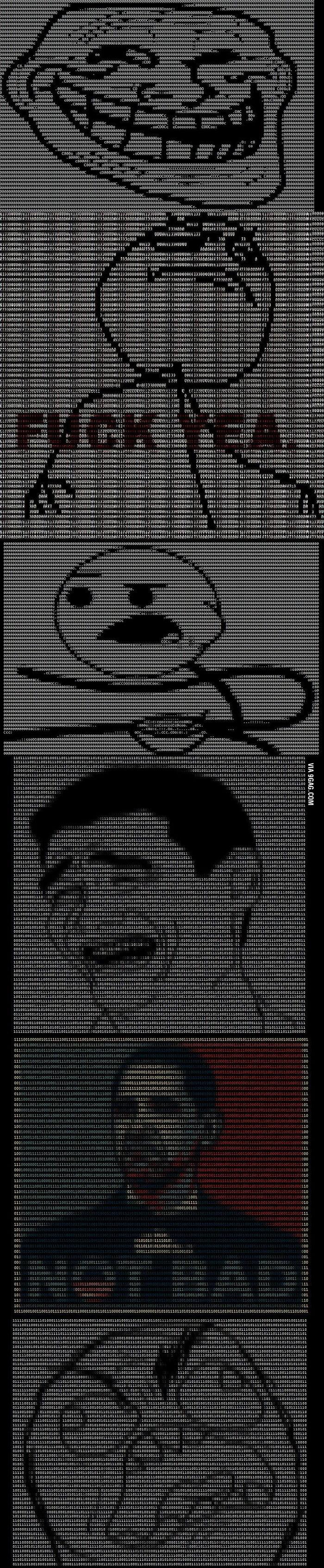 Memes converted to HTML/ASCII - 9GAG