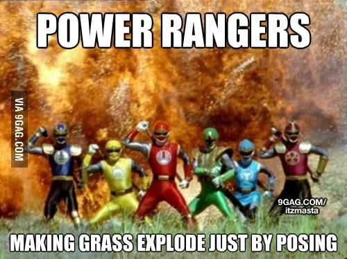 Oh Power Rangers