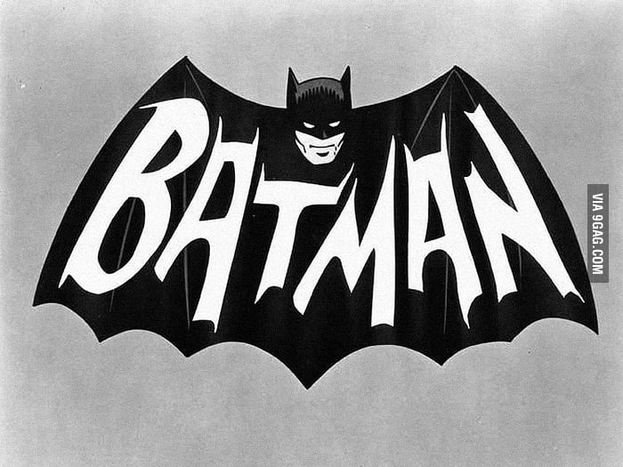 The Original Batman Logo