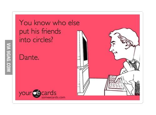 Friends in circles