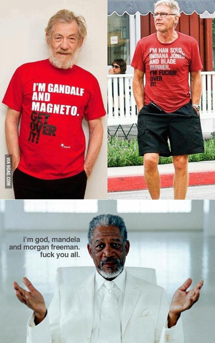 Morgan Freeman Wins