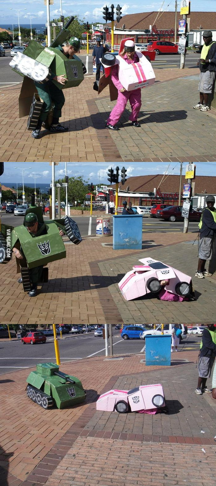 Real Life Transformers