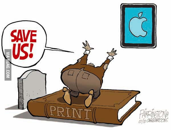 What iPad mean to a Publisher