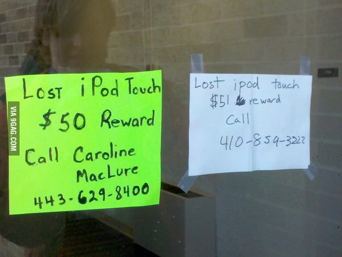 Lost iPod Touch War