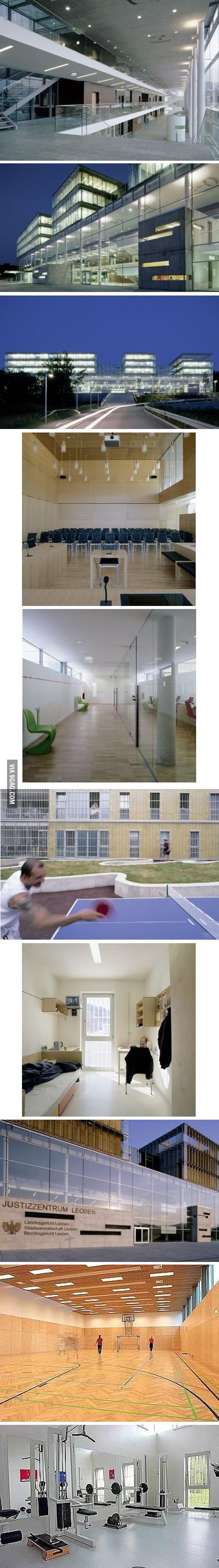 Just a prison in Leoben, Austria