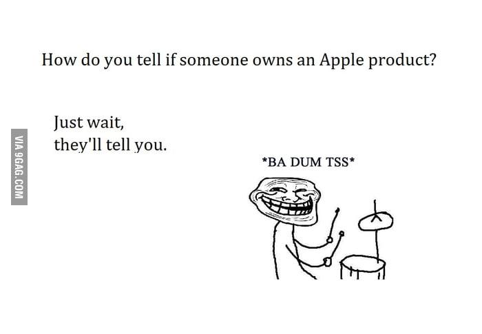 Annoying Apple fanboys