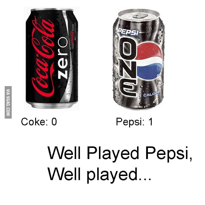 Well played Pepsi
