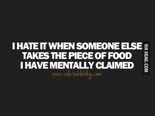 I hate it when...