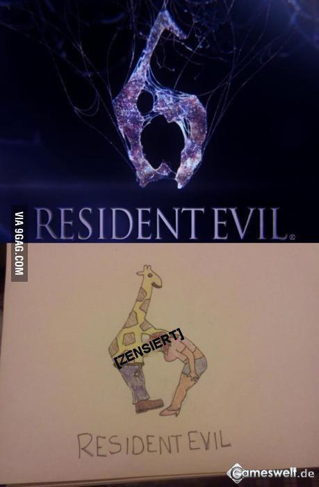 New Resident Evil 6 Logo Wait What 9gag