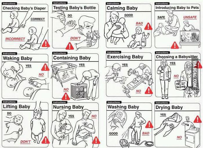 baby instruction manual 9gag rh 9gag com baby instruction manual for dummies baby g instruction manual
