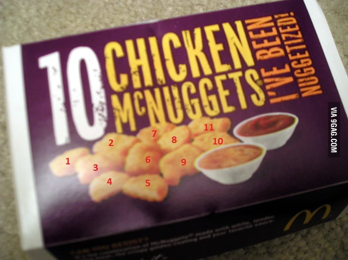 10 Chicken McNuggets
