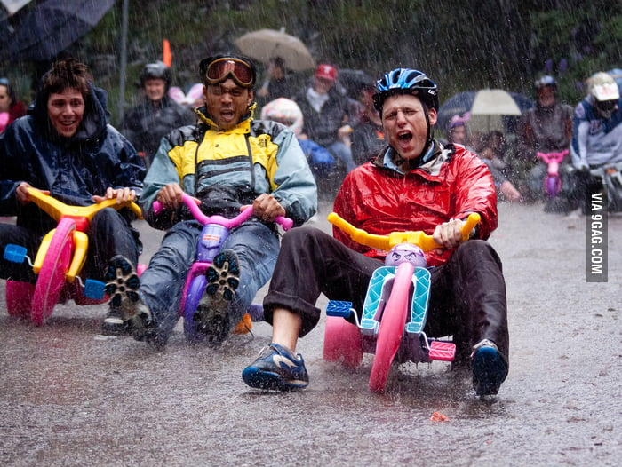 Bring Your Own Big Wheel Race