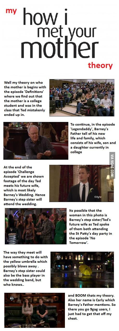 My How I Met Your Mother Theory !