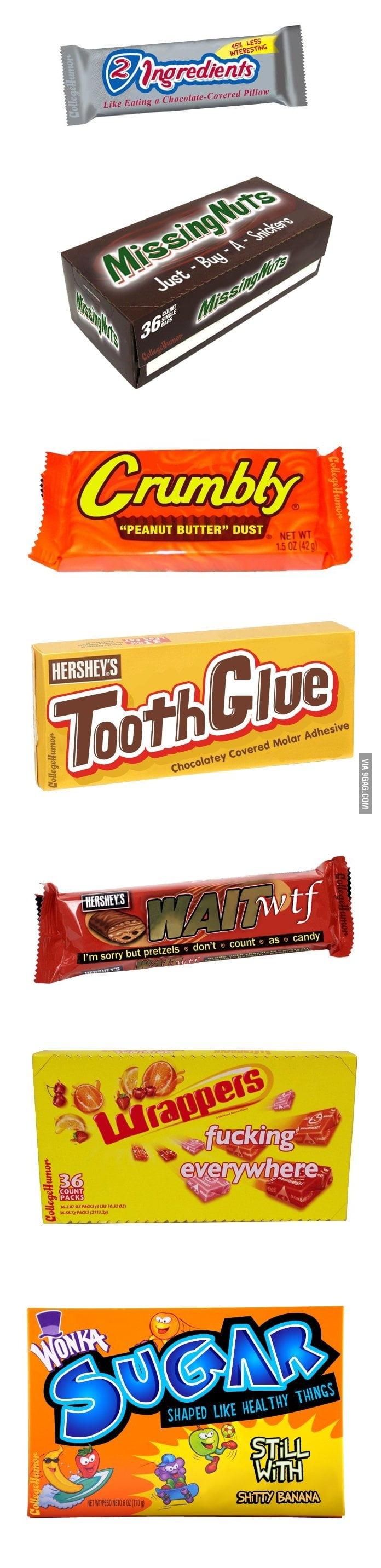 Descriptive Candy Names