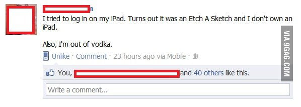 Best FB Status Ever.