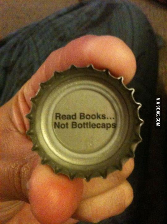 Bottlecaps trolling before it was cool