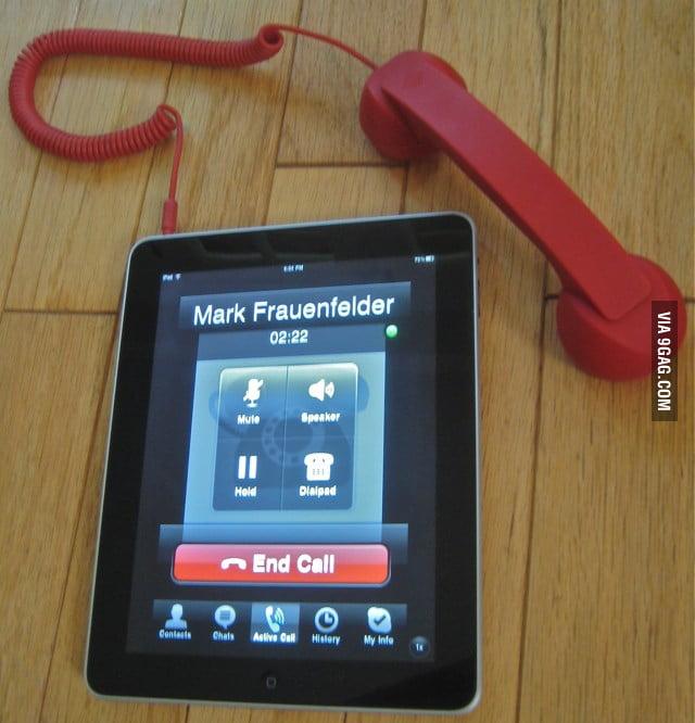 IPad is just a big iPhone
