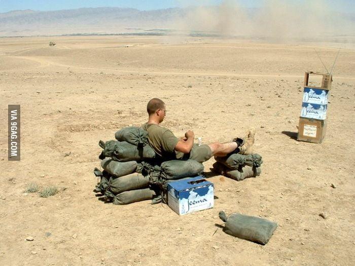 Entertainment in desert