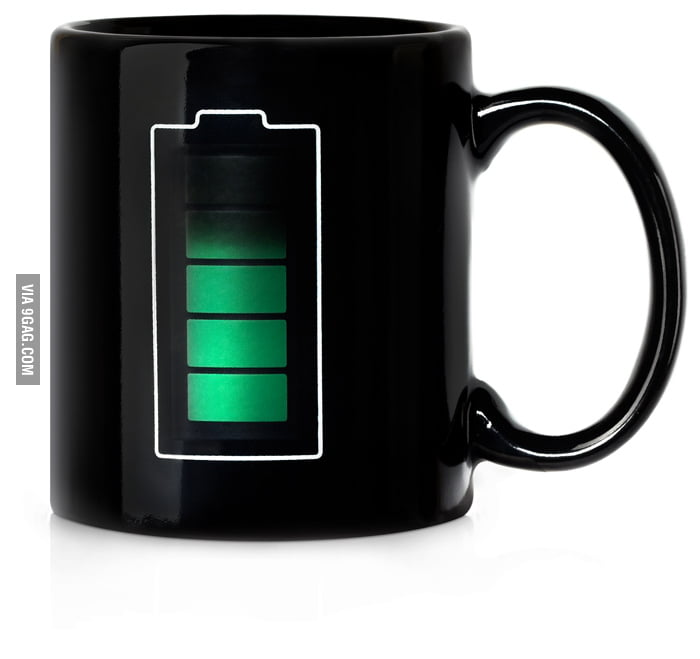 Mug with a temperature sensor