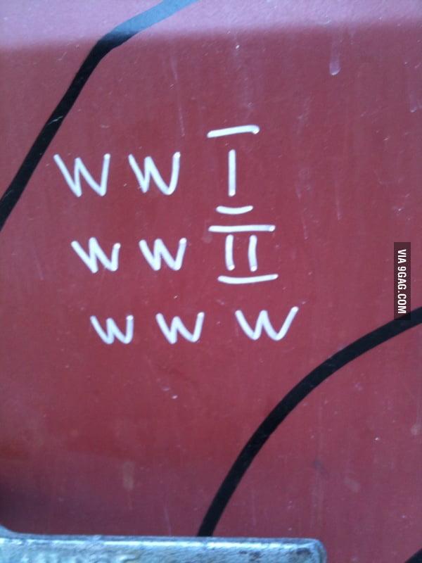 WWI, WWII, WWW