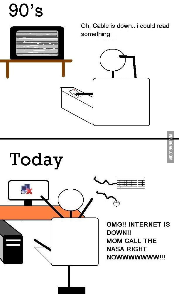 a day without the internet