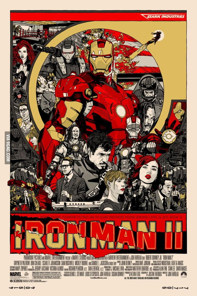 Awesome Iron Man 2 Poster