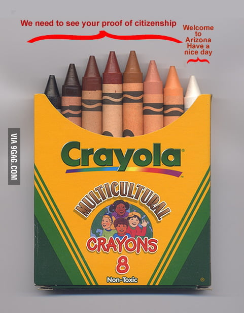 Arizona - explained by crayons