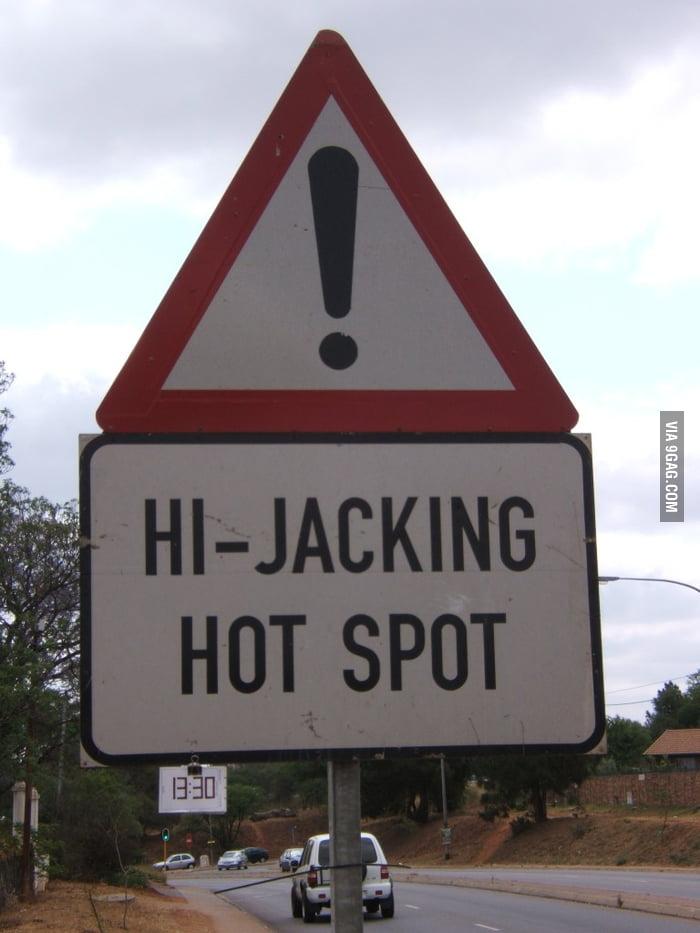 Hijacking Hot Spot