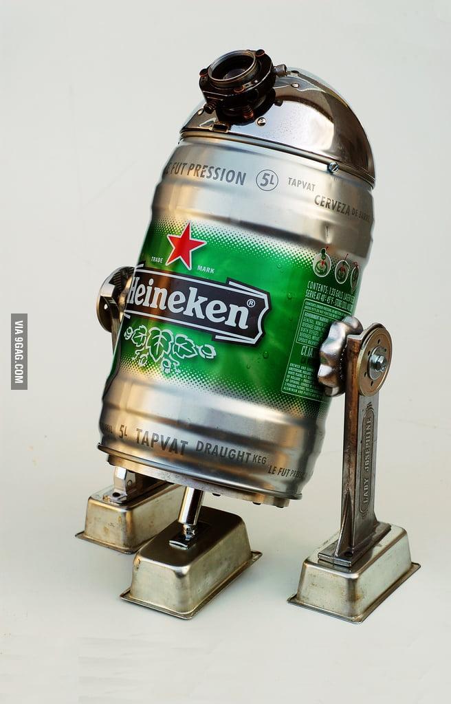 Heineken R2-D2