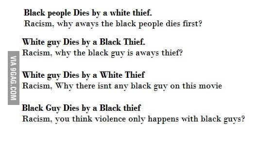 Racism everywhere