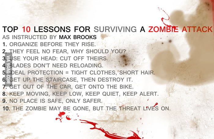 Survive a Zombie Attack