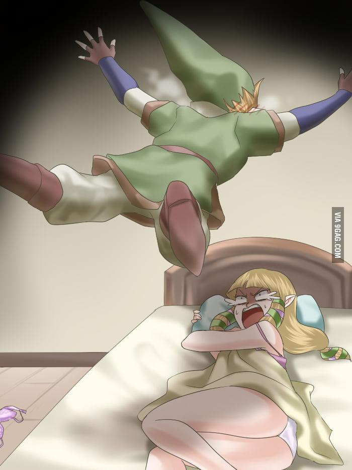 Just Link and Zelda