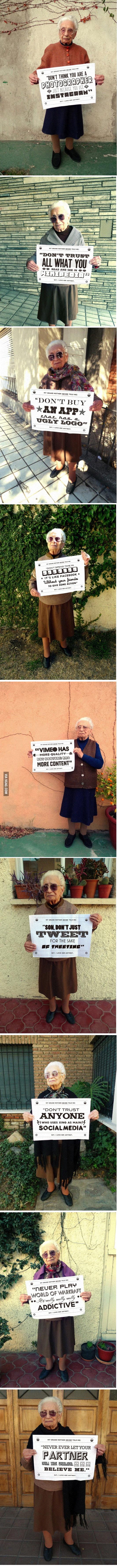 Epic Grandma Advices are Epic