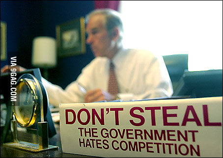 From the desk of Ron Paul