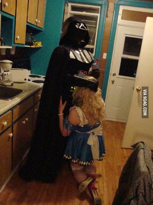 Darth Vader Blow Job