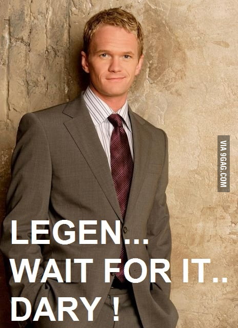 Barney Stinson Legendary